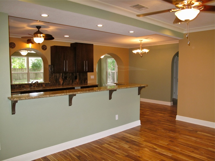 pensacola open plan ranch remodel done right before and after photos